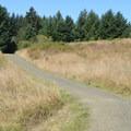 Interpretive trail through Fort Hoskins Historic Park.- Fort Hoskins Historic Park