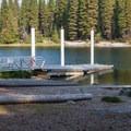 Boat ramp.- Lake Wenatchee State Park