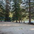 Beach volleyball.- Lake Wenatchee State Park South Campground