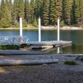 Boat launch.- Lake Wenatchee State Park South Campground