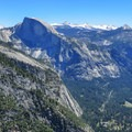 The view from Yosemite Point.- Yosemite Falls