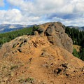 Red Top Mountain's summit.- Red Top Lookout