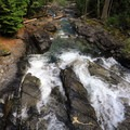 Runoff from Deception Falls.- Deception Falls National Recreation Area