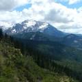 Mount Jefferson (10,495') from Bear Point.- Bear Point