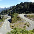 Mount Baker Highway from Wild Goose Trail.- Chain Lakes Loop Trail