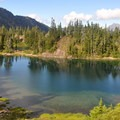 Hayes Lakes features four more backcountry campsites.- Chain Lakes Loop Trail