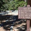 Windy Gap Trailhead.- Mount Islip Loop Trail