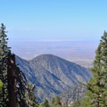 Looking north to the Mojave Desert from Islip Ridge Trail.- Mount Islip Loop Trail