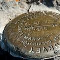 USGS summit marker.- Mount Thielsen