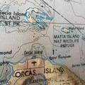 Paddling area.- Matia Island to Orcas Island Sea Kayaking