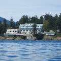Rosario Resort in Orcas Island's East Sound.- Orcas Island: Sea Kayaking Obstruction Pass Beach to Cascade Bay