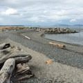 North Beach on Orcas Island.- Orcas Island: North Beach