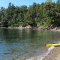 Spring Bay on Orcas Island, with a view to a private residence.- Orcas Island: Spring Bay