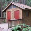 Restroom facilities along the hike.- Sucia Island Hiking Trail System