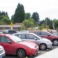 Parking at the Banks Trailhead.- Banks-Vernonia Trail