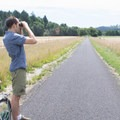 Bird-watching between Manning and Buxton trailheads.- Banks-Vernonia Trail
