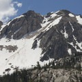 The north side of Mystery Mountain.- Alpine Way Trail, Iron Creek to Stanley Lake