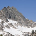 Mount Sevy (10,480') and Red Bluff from a spur hike off the Alpine Way Trail.- Alpine Way Trail, Redfish to Huckleberry Creek