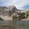 The view of the headwalls above Twin Lakes.- Alice + Twin Lakes Hike