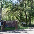 Main entrance.- Dr. Rod Coler Audubon Nature Trail