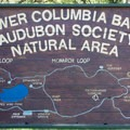 Entrance sign with points of interest.- Dr. Rod Coler Audubon Nature Trail