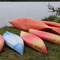 Kayak rentals at Cascade Lake.- Orcas Island: Cascade Lake