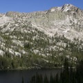 Hidden Lake and Payette Peak (10,221').- South Fork of the Payette River, Hidden Lake and Cramer Divide