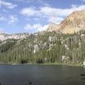 Hidden Lake.- South Fork of the Payette River, Hidden Lake and Cramer Divide