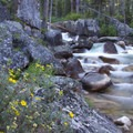 Unnamed cascade on the South Fork of the Payette River.- South Fork of the Payette River, Taylor Springs to Elk Lake