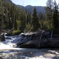The gorge leading into Fern Falls.- South Fork of the Payette River, Taylor Springs to Elk Lake