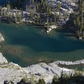 Good fishing. South lobe of Flytrip Basin.- Middle Fork of the Boise River, Camp Lakes and Flytrip Basin