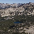 Looking across Flytrip Basin.- Middle Fork of the Boise River, Camp Lakes and Flytrip Basin