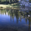 An unnamed Flytrip lake.- Middle Fork of the Boise River, Camp Lakes and Flytrip Basin