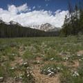Hikers are rewarded with great views of Heyburn Peak.- Bull Moose Creek