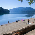 Beach at Kachess Lake.- Kachess Lake Campground