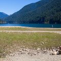 Lake inlet access.- Kachess Lake Campground