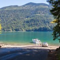 South boat launch.- Kachess Lake Campground