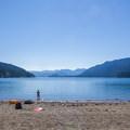 South beach.- Kachess Lake Campground