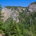 View of neighboring ridge.- Kachess Beacon