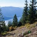 Kachess Ridge and Kachess Lake.- Kachess Beacon