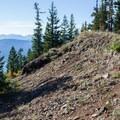 Craggy ridge trail.- Kachess Beacon