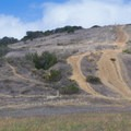 The trail leading to Del Mar Mesa Road is mostly used by bikers.- Los Peñasquitos Canyon Preserve