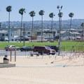 Playground near the base of Balboa Pier.- Newport Municipal Beach