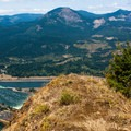 The view north from Wauna Point with Bonneville Dam visible near the bottom.- Wauna Point Hike