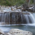 South Fork of the Payette River above slot falls.- South Fork of the Payette River, Taylor Springs to Elk Lake