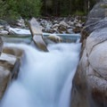 Slot Falls on the South Fork of the Payette River.- South Fork of the Payette River, Taylor Springs to Elk Lake