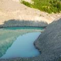 The glacier tarn.- Canyon Creek Meadows