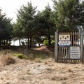 There are three parking areas for Bastendorff Beach.- Bastendorff Beach