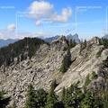 View looking west from Beckler Peak.- Beckler Peak Trail