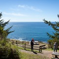 The cape is an ideal vantage point for whale watching.- Cape Arago State Park